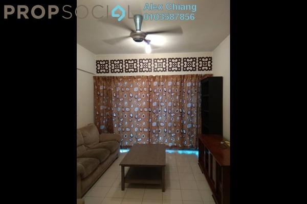 For Rent Condominium at Mandy Villa, Segambut Freehold Semi Furnished 3R/2B 1.3k