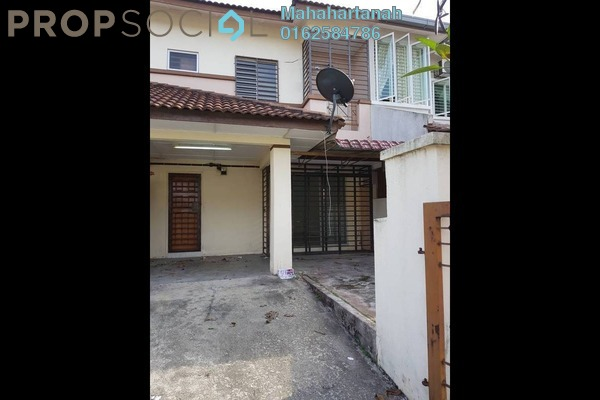 For Sale Terrace at Section 4, Bandar Mahkota Cheras Freehold Unfurnished 4R/3B 520k