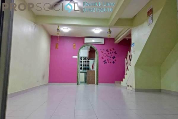 For Sale Terrace at Taman Serdang Jaya, Seri Kembangan Freehold Semi Furnished 3R/2B 430k