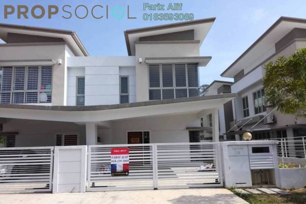 For Rent Semi-Detached at Sunway Alam Suria, Shah Alam Freehold Unfurnished 4R/3B 1.7k