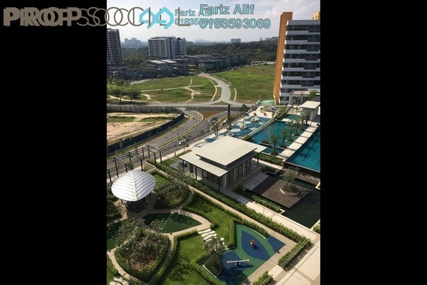 For Rent Condominium at Radia Residences, Bukit Jelutong Freehold Semi Furnished 2R/2B 1.8k