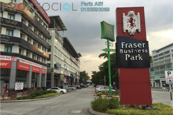 For Rent Shop at Fraser Business Park, Sungai Besi Freehold Unfurnished 0R/1B 3.5k