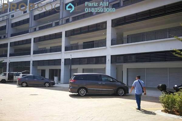 For Rent Shop at Radia Residences, Bukit Jelutong Freehold Unfurnished 0R/1B 1.5k