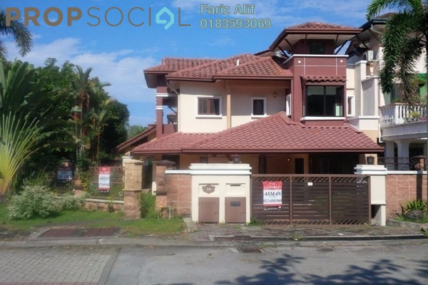 For Sale Superlink at Section U8, Bukit Jelutong Freehold Semi Furnished 6R/6B 1.5m