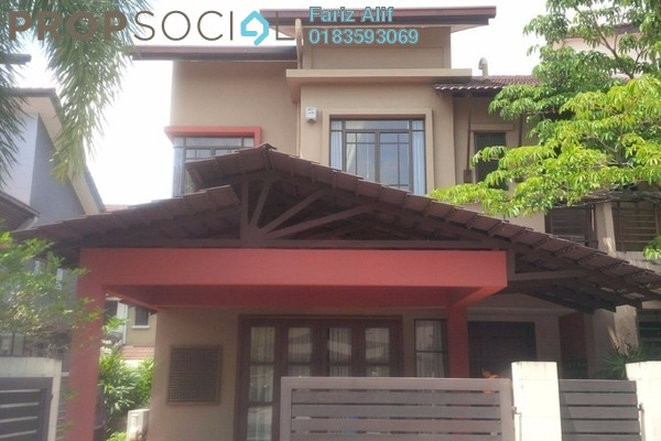 For Sale Superlink at Section U8, Bukit Jelutong Freehold Semi Furnished 5R/5B 1.38m