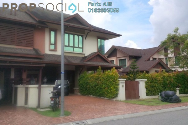 For Rent Semi-Detached at D'Puncak, Bukit Jelutong Freehold Semi Furnished 6R/6B 5.5k