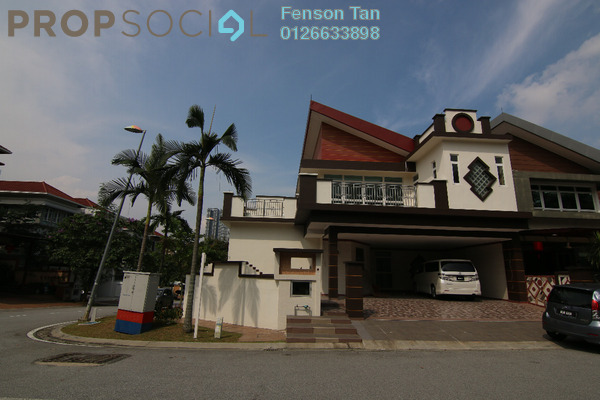 For Sale Semi-Detached at The Rafflesia, Damansara Perdana Leasehold Unfurnished 8R/6B 3m