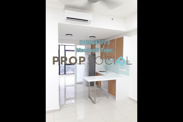 For Rent SoHo/Studio at Centrus SoHo 1, Cyberjaya Freehold Semi Furnished 1R/1B 1.2k
