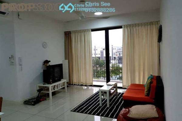 For Sale Condominium at Windows On The Park, Bandar Tun Hussein Onn Freehold Semi Furnished 3R/2B 598k