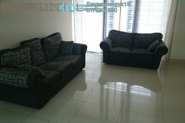 For Rent Condominium at Platinum Hill PV2, Setapak Freehold Semi Furnished 3R/2B 1.9k