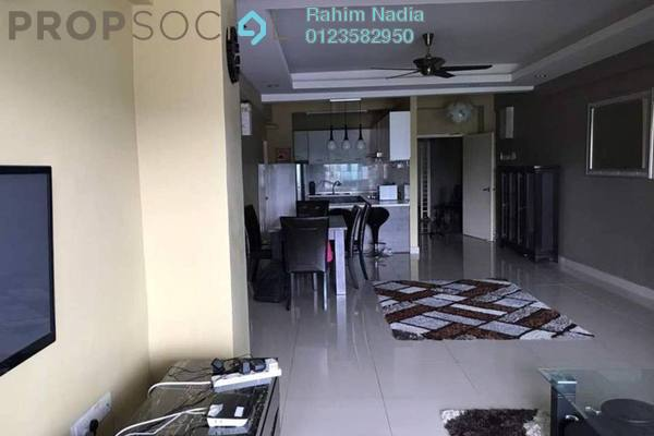 For Sale Serviced Residence at Mutiara Anggerik, Shah Alam Freehold Semi Furnished 3R/2B 448k