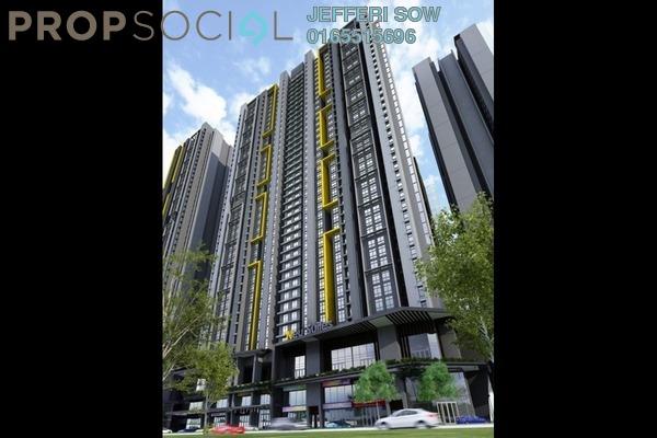 For Sale SoHo/Studio at 3rdNvenue, Ampang Hilir Freehold Semi Furnished 2R/2B 500k