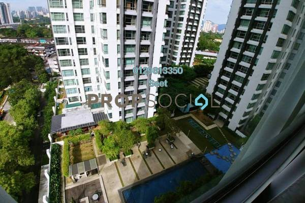 For Sale Condominium at The Saffron, Sentul Freehold Semi Furnished 3R/3B 1.25m