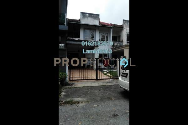 For Sale Terrace at Bandar Tasik Puteri, Rawang Freehold Semi Furnished 4R/3B 385k