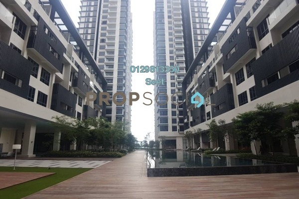 For Rent Condominium at Anjali @ North Kiara, Segambut Freehold Semi Furnished 3R/4B 3.5k