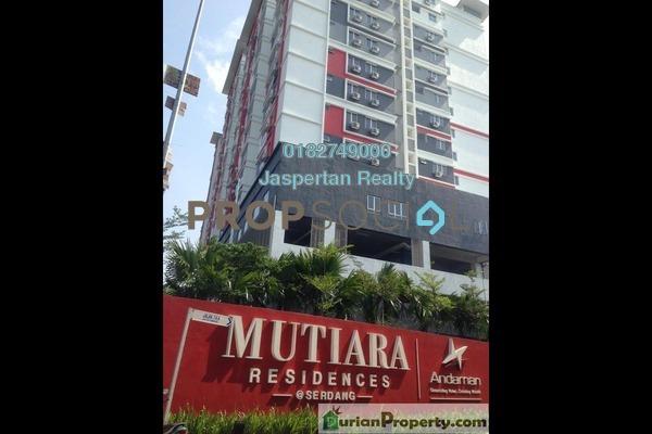 For Rent Condominium at Diamond Residence @ Serdang, Seri Kembangan Freehold Fully Furnished 3R/2B 1.3k