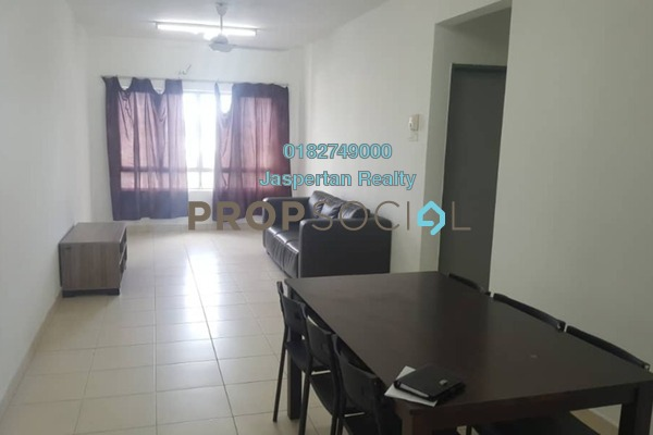 For Rent Condominium at Diamond Residence @ Serdang, Seri Kembangan Freehold Fully Furnished 4R/3B 1.4k