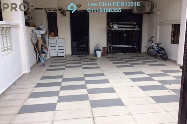 For Sale Terrace at Taman Bukit Hatamas, Cheras Freehold Semi Furnished 4R/3B 600k