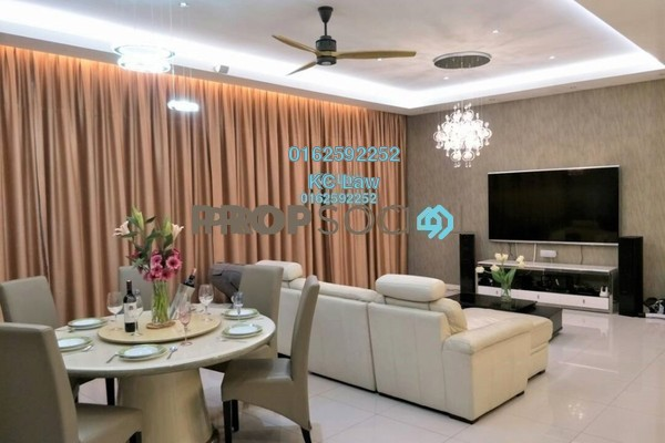 For Rent Condominium at The Park Residences, Bangsar South Freehold Fully Furnished 3R/4B 6.4k