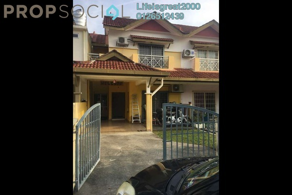 For Sale Terrace at Taman Tasik Prima, Puchong Freehold Semi Furnished 4R/3B 598k