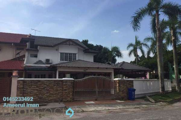 For Rent Terrace at Seksyen 32, Bukit Rimau Freehold Semi Furnished 6R/3B 1.85k