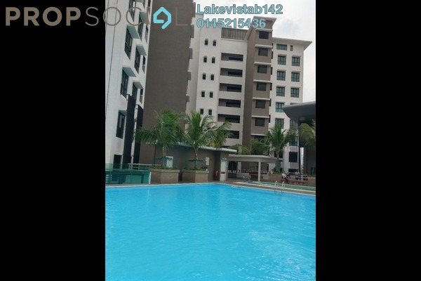 For Rent Condominium at Lake Vista Residence, Bandar Tun Hussein Onn Freehold Unfurnished 3R/2B 1.5k