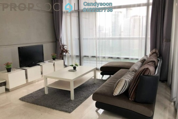 For Rent Condominium at The Troika, KLCC Freehold Fully Furnished 0R/0B 9k