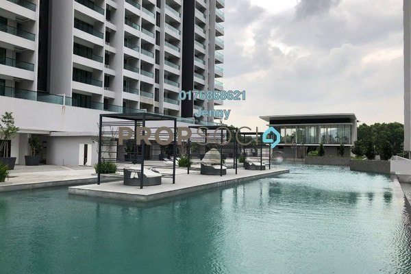 For Sale Condominium at Paragon 3, Bandar Putra Permai Leasehold Semi Furnished 4R/3B 549k