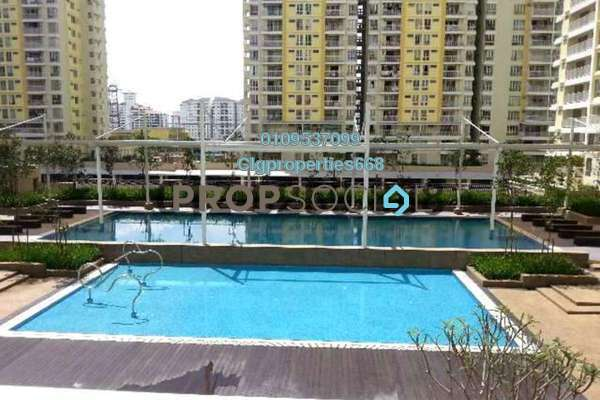 For Rent Condominium at Platinum Lake PV16, Setapak Freehold Fully Furnished 4R/2B 1.9k