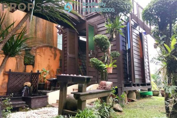 For Sale Terrace at Taman Zooview, Ukay Freehold Semi Furnished 5R/3B 939k