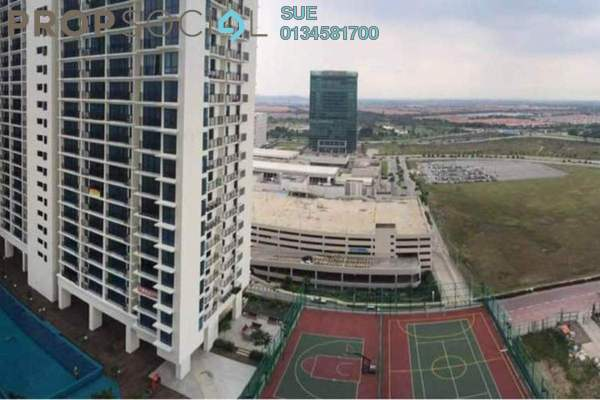 For Rent Condominium at Trefoil, Setia Alam Freehold Semi Furnished 0R/1B 900translationmissing:en.pricing.unit