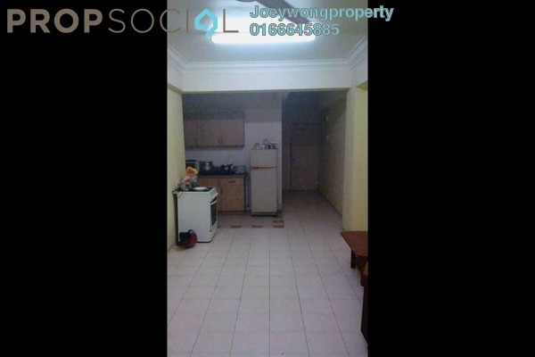 For Sale Apartment at Elite Apartment, Puchong Freehold Semi Furnished 3R/2B 299k