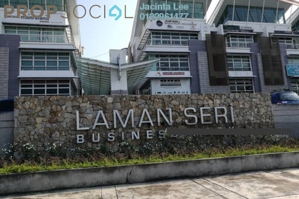For Sale Office at Laman Seri, Shah Alam Leasehold Unfurnished 0R/2B 680k