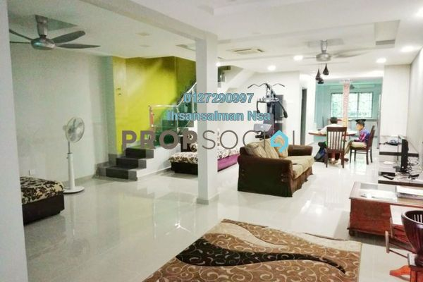 For Sale Terrace at Section 13, Shah Alam Leasehold Semi Furnished 4R/3B 799k