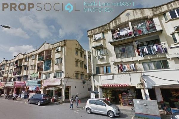 For Sale Apartment at Taman Sri Andalas, Klang Freehold Unfurnished 4R/2B 215k
