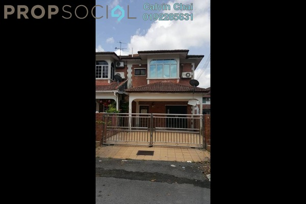 For Sale Terrace at SL11, Bandar Sungai Long Freehold Semi Furnished 4R/3B 550k