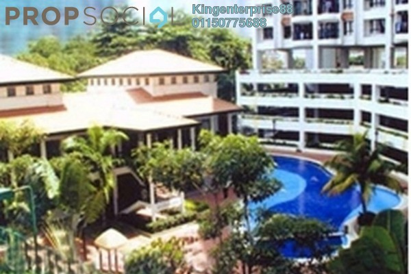 For Rent Condominium at Sri Pelangi, Setapak Freehold Semi Furnished 3R/2B 1.3k