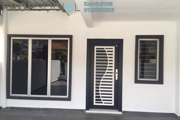For Sale Terrace at Setia Impian, Setia Alam Freehold Semi Furnished 4R/3B 599k