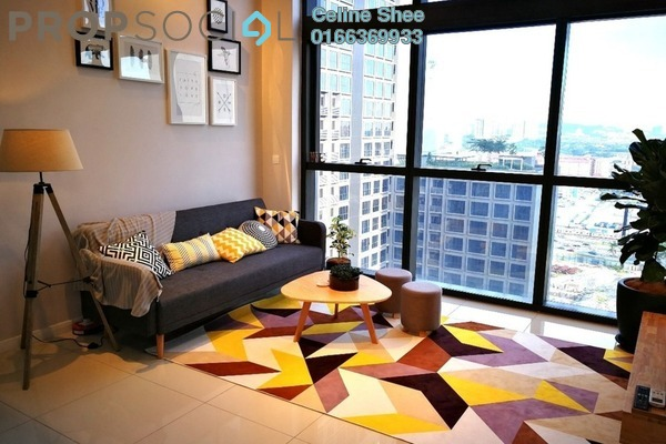 For Rent Serviced Residence at Icon City, Petaling Jaya Freehold Fully Furnished 1R/2B 3.5k