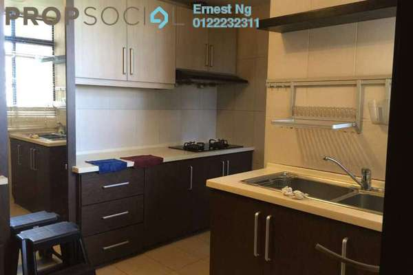 For Rent Condominium at Pelangi Condominium, Sentul Freehold Fully Furnished 2R/2B 1.7k