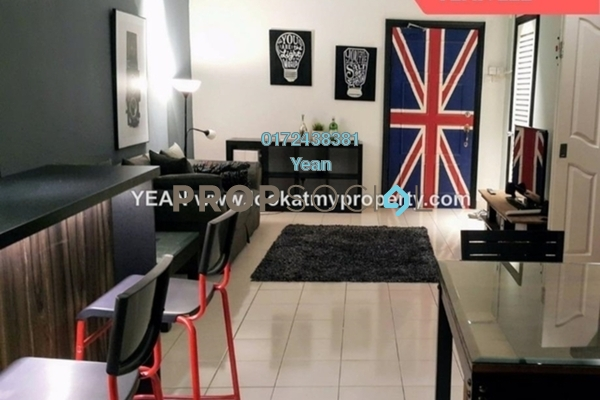 For Sale Condominium at Angkasa Impian 2, Bukit Ceylon Freehold Fully Furnished 1R/1B 575k