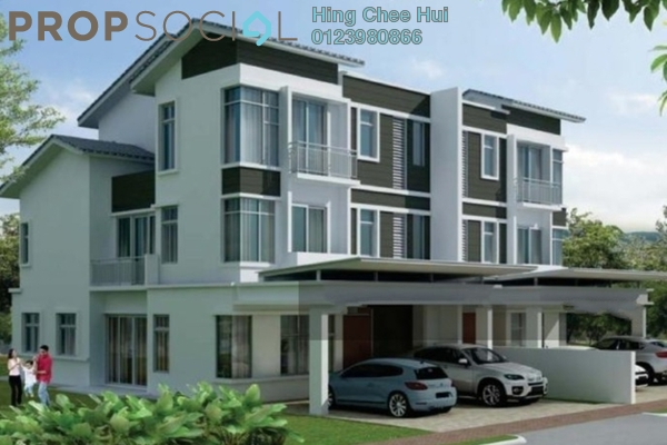 For Sale Semi-Detached at Tropicana Cheras, Kajang Freehold Semi Furnished 7R/7B 1.35m