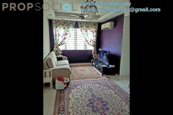 For Sale Apartment at Suria Kinrara, Bandar Kinrara Freehold Semi Furnished 3R/2B 210k