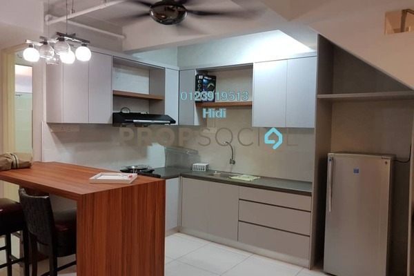 For Rent Duplex at De Centrum Residences, Kajang Freehold Fully Furnished 1R/2B 1.8k