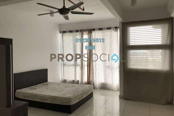 For Rent SoHo/Studio at De Centrum Residences, Kajang Freehold Semi Furnished 1R/1B 1.2k