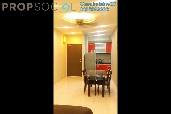 For Sale Condominium at Symphony Heights, Selayang Freehold Fully Furnished 2R/2B 360k