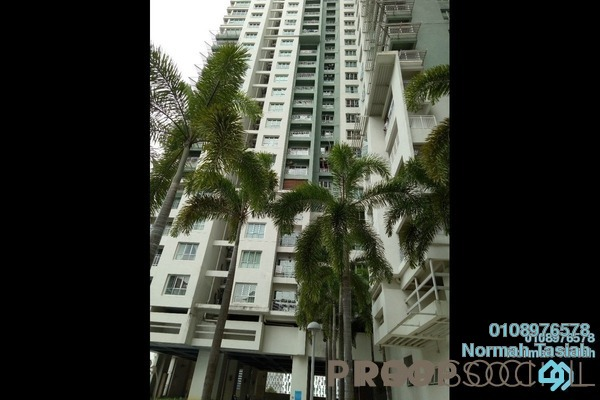 For Sale Condominium at Metropolitan Square, Damansara Perdana Freehold Semi Furnished 3R/2B 640k