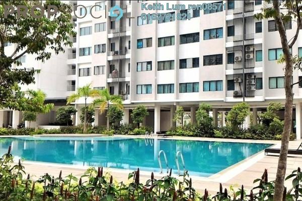 For Sale Apartment at Suria Rafflesia, Setia Alam Freehold Unfurnished 3R/2B 340k
