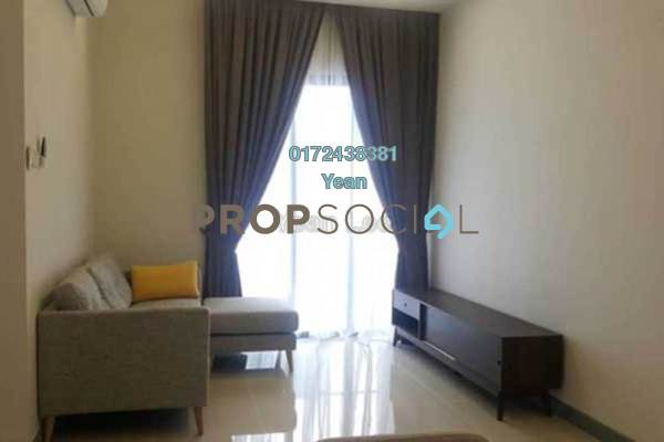 For Rent Condominium at South View, Bangsar South Freehold Semi Furnished 2R/2B 2.6k