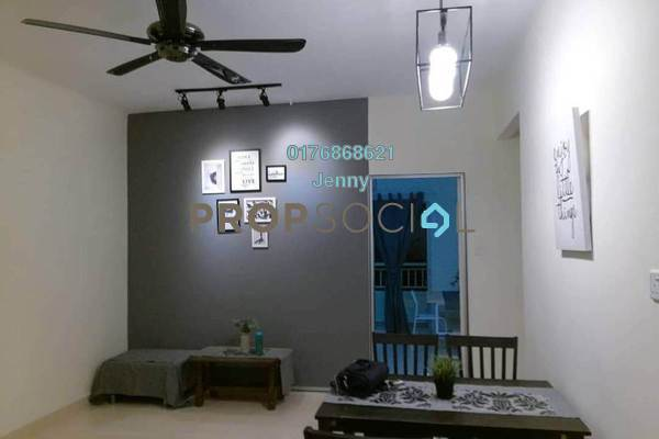 For Rent Condominium at SuriaMas, Bandar Sunway Freehold Fully Furnished 4R/2B 3k